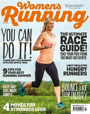Women's Running Magazine July 2016 ~ New ~