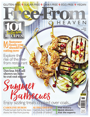 Free From Heaven Magazine Issue July / August 2016 ~ New ~
