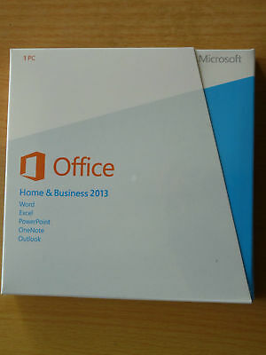 Microsoft Office 2013 Home and Business 32+64bit For 1PC with DVD Free shipping