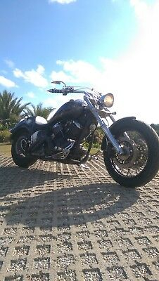 Yamaha XVS1100 Custom Chopper Motorcycle