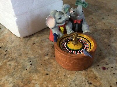 VTG 1995 Luckyphants Elephants 1043 Lucky Roulette in box