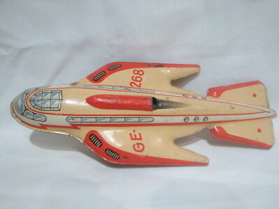 Vintage Tecnofix Space  Rocket Ship.