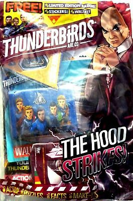 Thunderbirds Are Go Magazine Issue #12 ~ Brand New Sealed Pack With Gifts ~