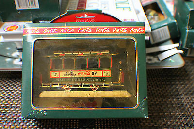 Vintage 1993 Coca Cola Town Square Collection Old Number 7