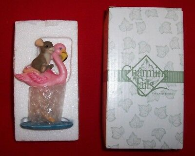 New Charming Tails High and Dry Flamingo by Fitz and Floyd
