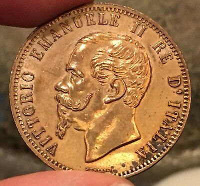 1867 H ITALY 10 CENTESIMI - Great Condition, Priced to Sell!