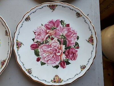 1990 ROYAL ALBERT Albertine Rose Queen Mother's Favourite Flowers China Plate