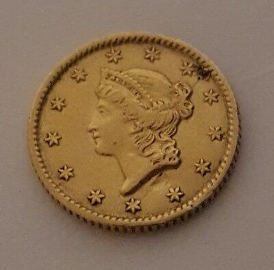 1853 $1 Gold Coin Dollar