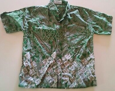 Boys button front dress shirt Size 9.