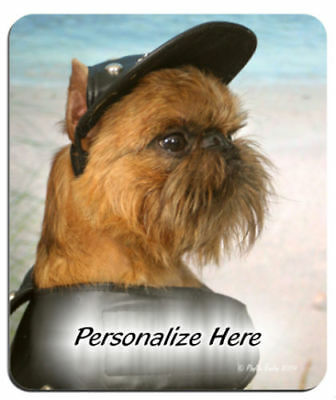 Brussels  Griffon  # 47  Personalized  Mouse Pad