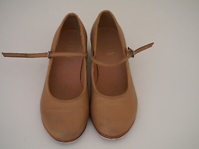Tan BLOCH Tap Shoes size 6.5 ( 6 1/2 ) In GREAT CONDITION.