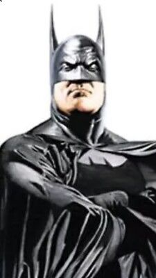"""Alex Ross Oversized BAT MAN Poster 22"""" x 58"""" (2000) DC Direct New ROLLED /UNUSED"""