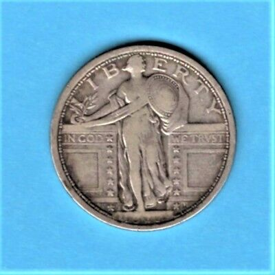 vad - 1917 STANDING LIBERTY QUARTER - TYPE I