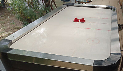 "Heavy Duty Commercial Air Hockey Table Very Good Condition, 7.2' x 4.1"" 2 Pucks"