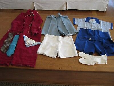 Vintage boys clothing and accessories