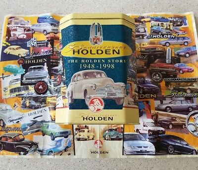 Collectors Holden 50 years anniversary The Story of Holden 1948 -1998  jigsaw.