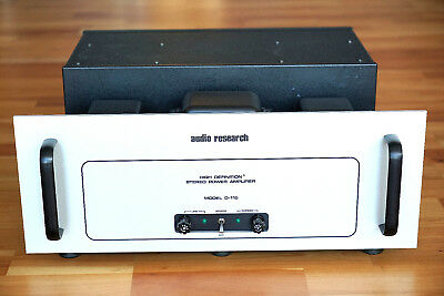 Audio Research Model D-115 MK2 Stereo Amp top Zustand