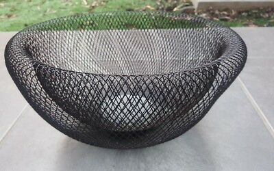 fruit bowl abstract wire basket
