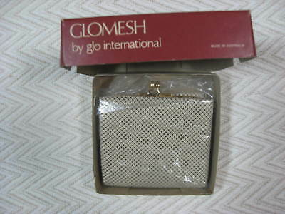 Vintage Glomesh Walled Coin Purse Tri Fold Made In Australia 1982s