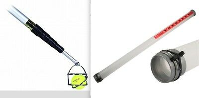 Masters 15ft Golf Ball Retriever With Swivel Head & Clikka Tube