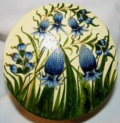 ( #2)Paper Mache - Antique Round- Hand Crafted /painted  - Great Collectibles  I