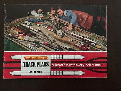 Hornby Track Plans 4th Edition Catalogue (1970s?)
