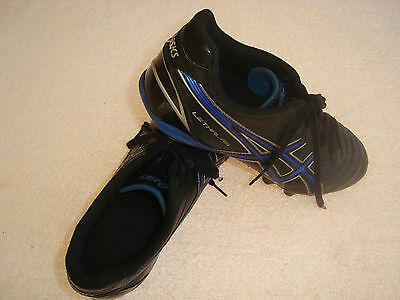 Asics Lethal RS Football Boots  US11  Cm28.5  Eu45  AFL,  Soccer,  Rugby,  Touch