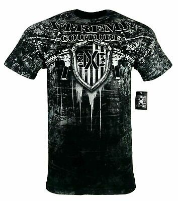XTREME COUTURE by AFFLICTION Men T-Shirt FREEDOM DEFENDER Biker MMA UFC S-4X $40