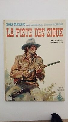 Blueberry Eo1971 Be/tbe La Piste Des Sioux Charlier Giraud Lombard