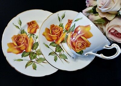 "Beautiful Vintage Paragon ""Tawny Gold"" Trio"