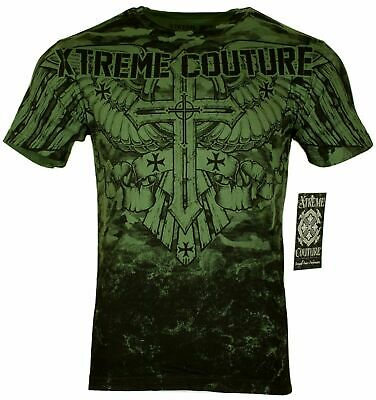 XTREME COUTURE by AFFLICTION Men T-Shirt LOST SOLDIER Biker MMA Gym S-4X $40