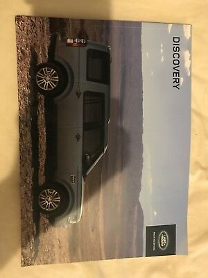 Land Rover Discovery 4 Series 2 Sales Brochure