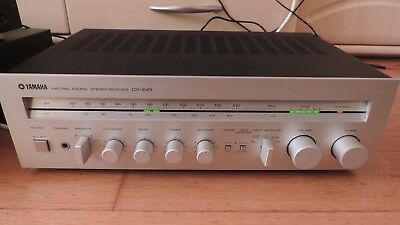 Yamaha CR-240 Vintage Receiver Phono