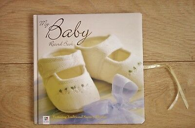 Baby record book for boy or girl