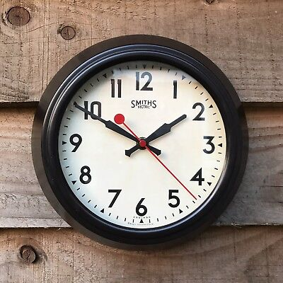 Small Smiths Sectric Replica Wall Clock Roger Lascelles