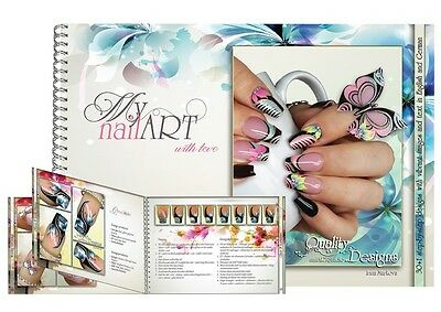 My nailART with love, Irina Markova, Anleitungsbuch, nail art buch, book DE & EN