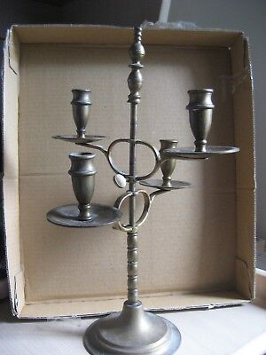 Brass Candelabra - Peerage -Made In England