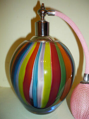 Multicolor paperweight glass perfume large Bottle atomizer