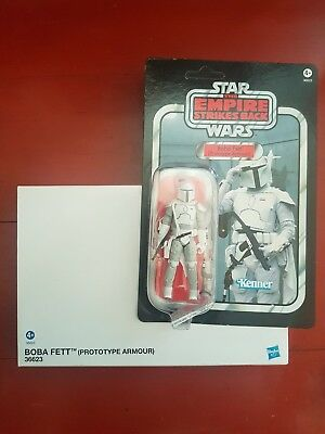 Star Wars Vintage Collection VC061Boba Fett (Prototype Armour) MOC unpunched