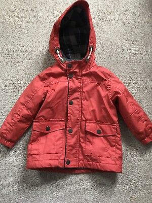 Boys Next Rain Coat Mack 12-18 Months