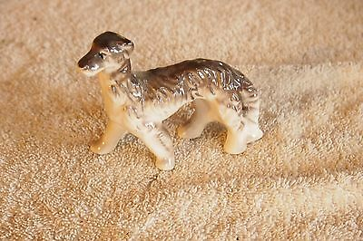 "Vintage Afghan Hound Dog – 3 ¼"" tall - Japan"