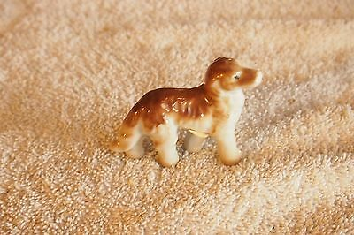 "Vintage Afghan Hound Dog – 2 ¼"" tall"