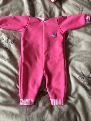 Splash about, all in one Baby Wet-suit, Fleece so nice and warm, girls aged 0-6m