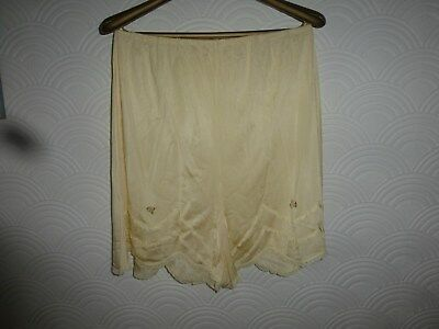 Vintage, yellow, French knickers, small to medium