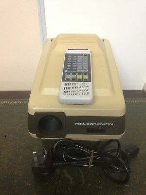 Nidek SCP-660 System Chart Projector Opticians / Optometry