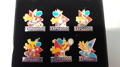 6 Pins EXPO 2000 in Box