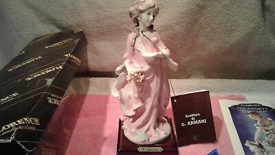Giuseppe Armani Florence Italy Figurine 1986 The Society Members only