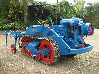 Ransomes MG2 crawler 1943 model and cultivator.