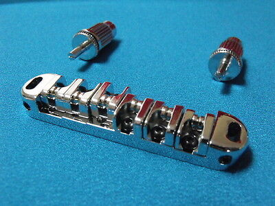 Chrome Guitar Roller Bridge 51mm string spacing for Vintage MIJ 60's Guitars