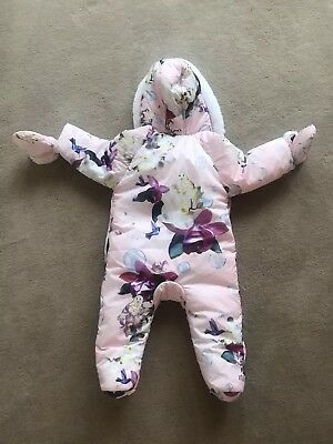 ted baker baby girl snowsuit 6-9 Months